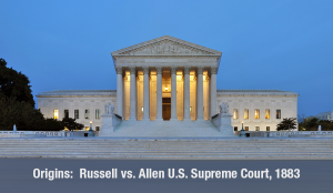 The U.S. Supreme Court determined in an 1883 ruling, that federal tax law requires the beneficiaries of a charitable contribution to be indefinite.