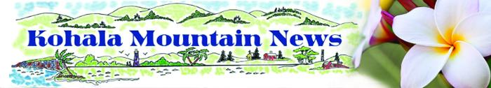 Masthead of the Kohala Mountain News